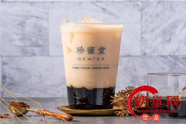 珍蜜堂奶茶产品图4