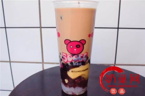 500cc奶茶产品图3
